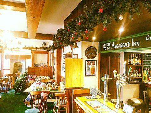 Decorating our Pub for the switch on Lights on Saturday Angarrack Christmas Lights ! #excited #mylocal #beautifulVillage #lovelypeople #angarrackinn — at Angarrack Inn
